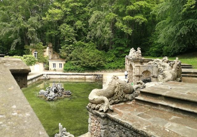Eremitage Bayreuth - Untere Grotte