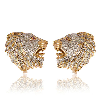Lion Shaped Gold & Diamond Jewellery by Vararoha Brand
