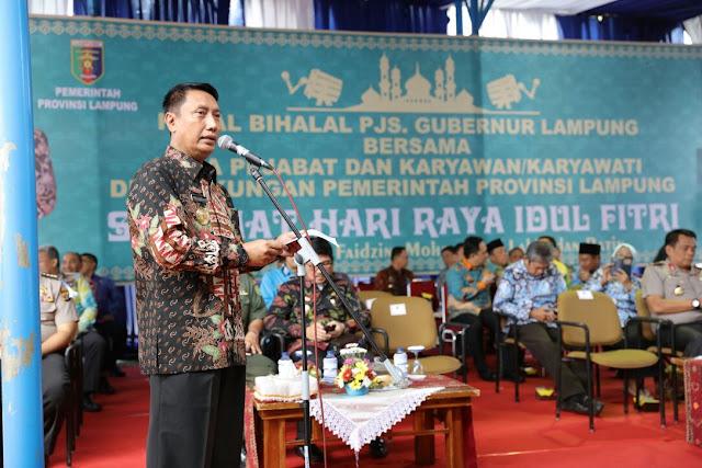 Halal Bihalal Pemprov dan Forkopimda Pererat Silaturahmi untuk Pembangunan Lampung