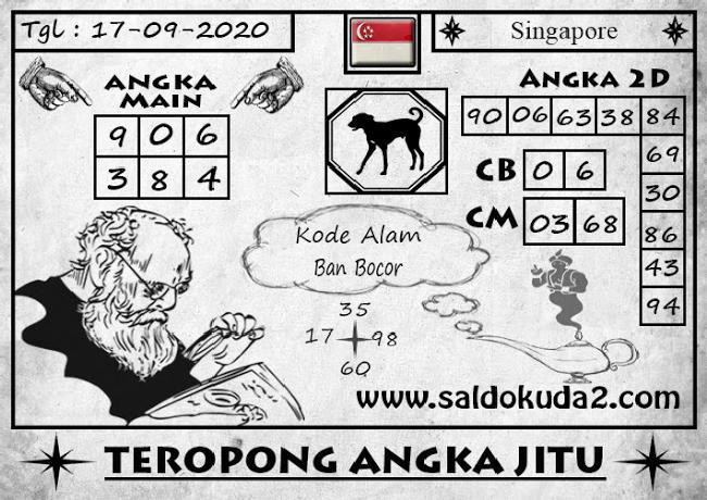 Kode syair Singapore Kamis 17 September 2020 124
