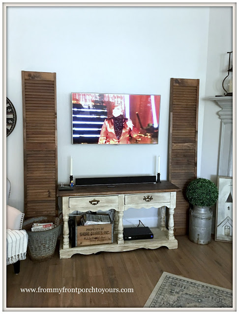 Farmhouse TV Sideboard-French COuntry-From My Front Porch To Yours