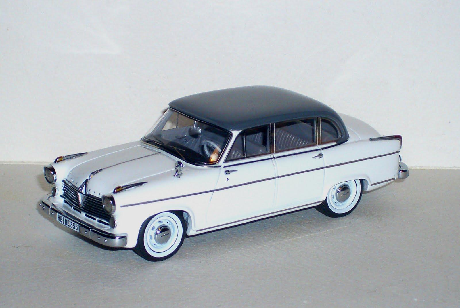 El Kekomóvil: Borgward Hansa 2400 Pullman de Neo Scale Models
