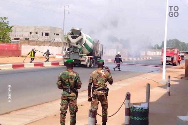 La protection civile, l'oubliée de la militarisation de Lomé