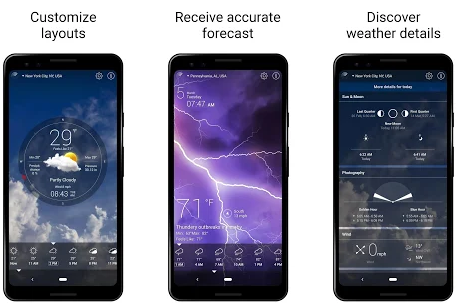 best live weather app for android
