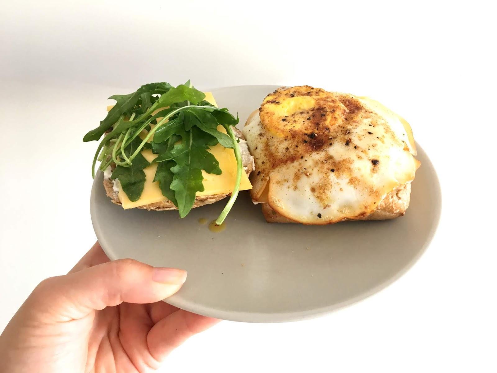 Ein gesundes Mittagessen schnell zubereitet
