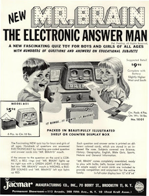 Mr Brain - The Electronic Answer Man