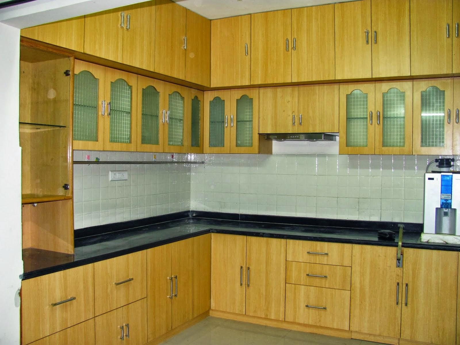 Kitchen Door Designs In Kerala Small House Interior Design