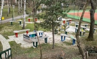 Askoe Wien Pit-Pat obstacle billiards in Vienna, Austria
