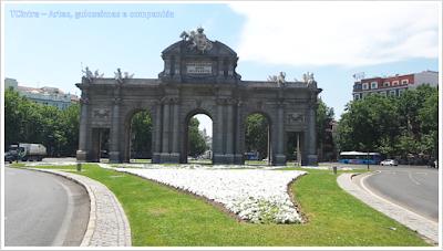 Madrid; Viagem Europa; Turismo na Espanha; Porta de Alcalá