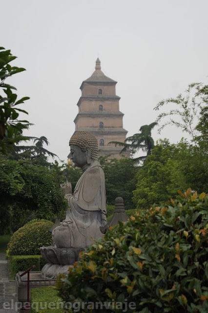Xian, parque, ciudad