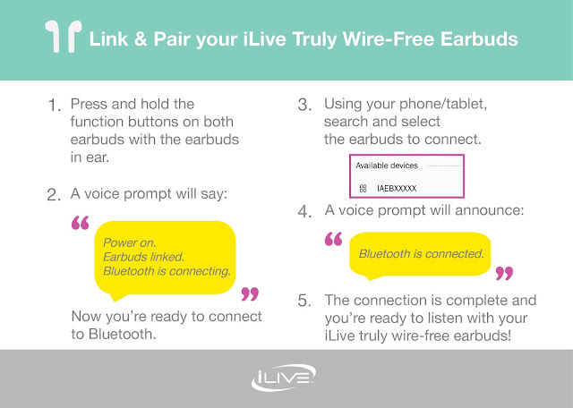Tech news: iLive Truly Wire-Free Earbuds are better than AirPods