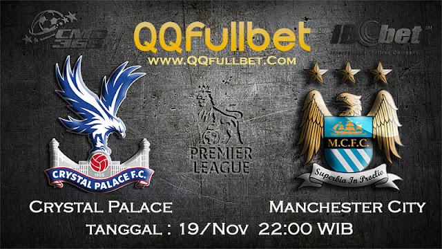 PREDIKSI BOLA - Prediksi Taruhan Bola Crystal Palace VS Manchester City 19 November 2016