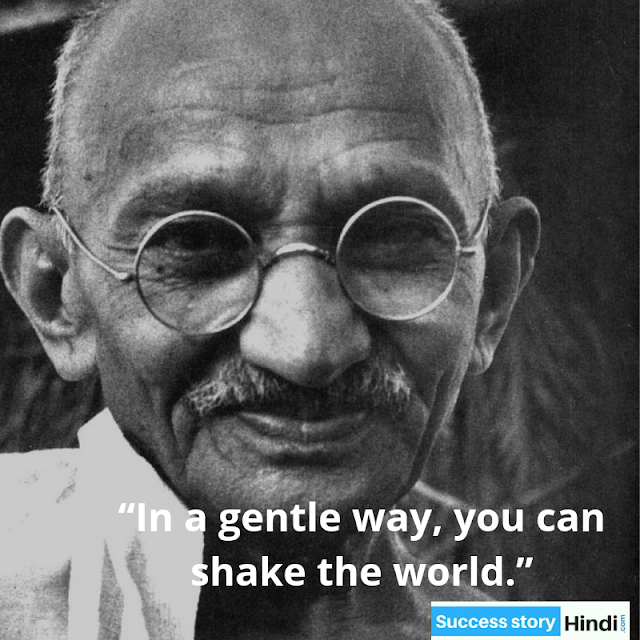 Mahatma Gandhi Ji Quotes Hindi and English