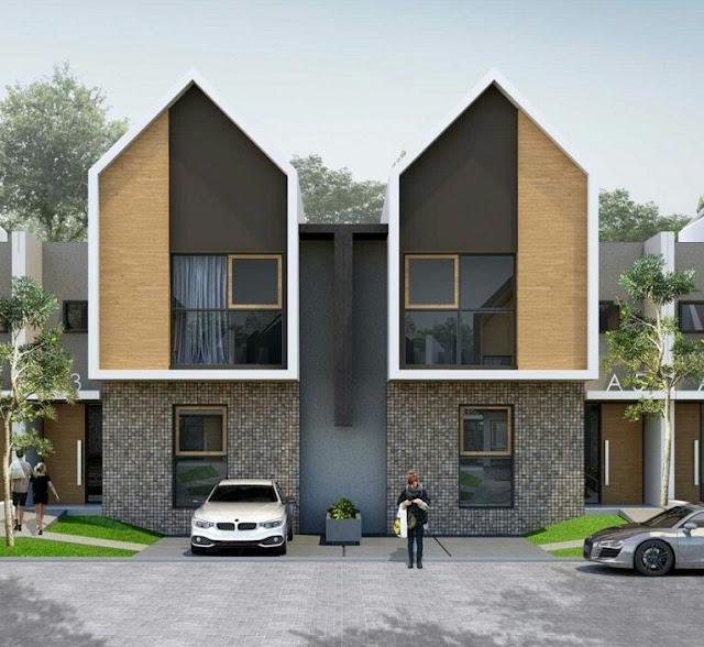 Scandinavian Style 2-Story House Design