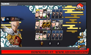 Download Naruto Senki 1.22 the Last Fixed Mod Saitama by Chiyan Apk