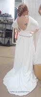 Vestido novia espalda al aire; tendencia novias 2017; diseño a medida