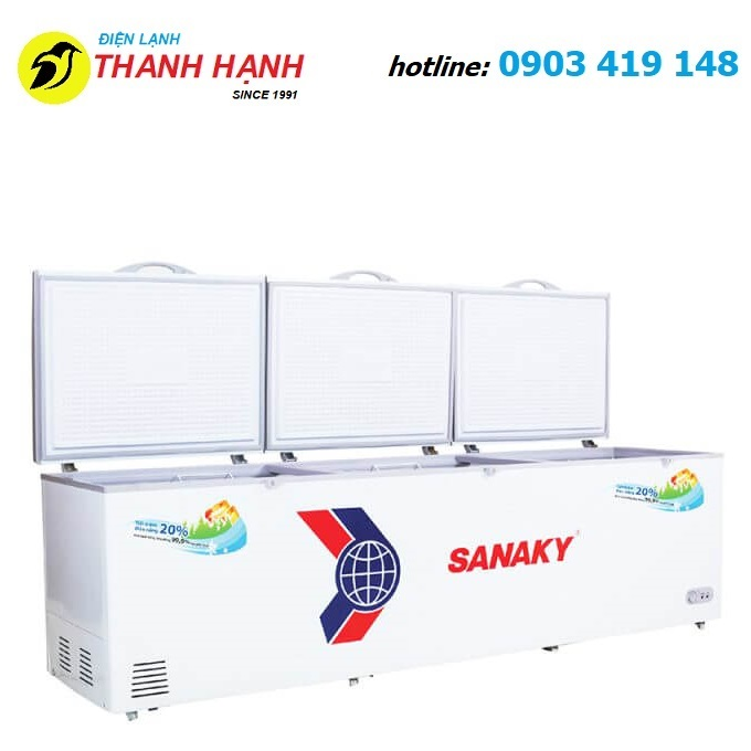 Tủ đông Sanaky inverter 1000 Lít VH-1199HY3