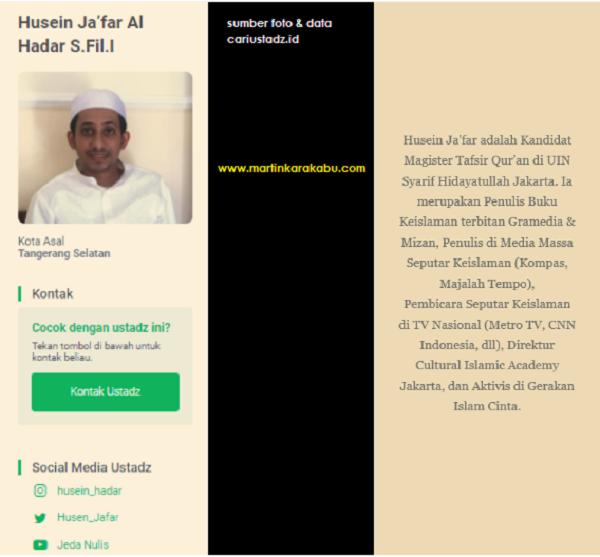 2 Hal Positif yang Bisa Kita Pelajari dari Ustaz Habib Husein Jafar