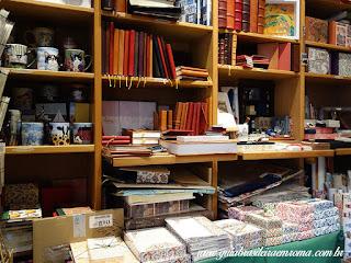 souvenirs cadernos canetas gaetana trastevere guia brasileira - Souvenirs alternativos em Roma