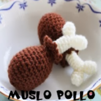http://patronesamigurumis.blogspot.com.es/search/label/MUSLO%20DE%20POLLO