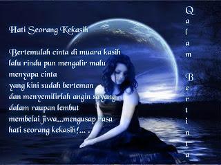 Puisi Rindu Untuk Sang Kekasih