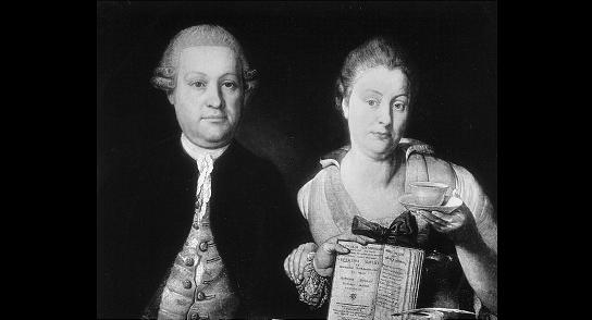 Leopold Auenbrugger berasma Istrinya Marianne