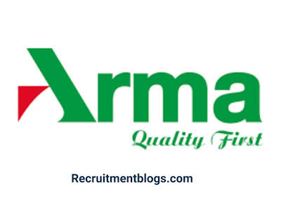 Storekeeper At Arma Group