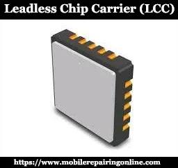 LCC chip