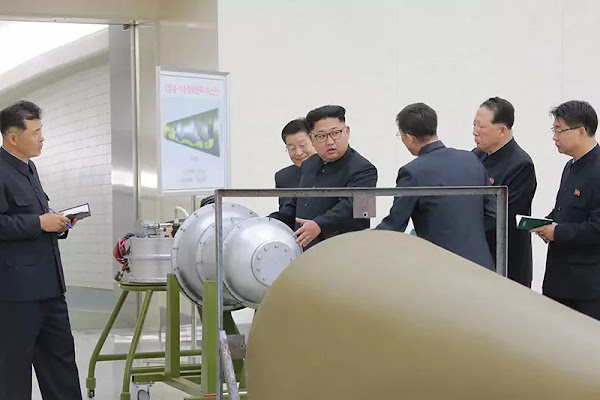 (3) Kim Jong Un gives guidance to nuclear weaponization