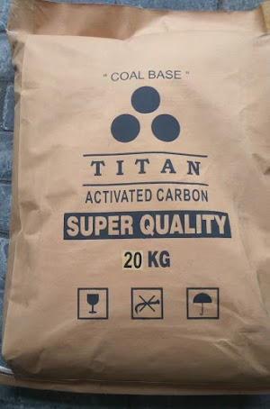 Carbon batubara TITAN (coal base 8x30) Super Quality