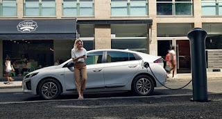 mobil listrik hyundai ionic electric, mobil listrik, mobil listrik hyundai