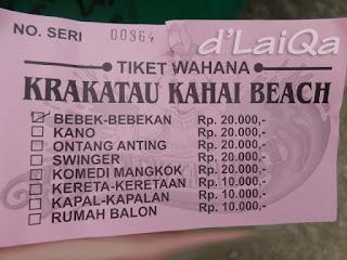 tiket wahana