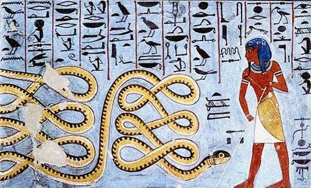 A magia no Antigo Egito.