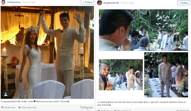 Bianca Gonzales and JC Intal in El Nido Palawan Wedding Video and Photos