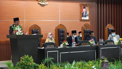 DPRD Lombok Timur Tetapkan Raperda APBD Perubahan Tahun 2021 Jadi Perda