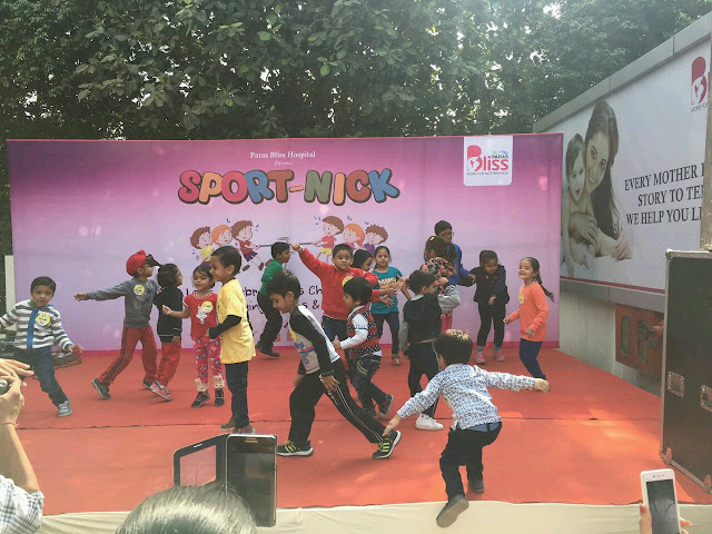 Paras Bliss Celebrates Children's Day with Sport-Nick: Underlines Importance of Sports & Physically Active Lifestyles