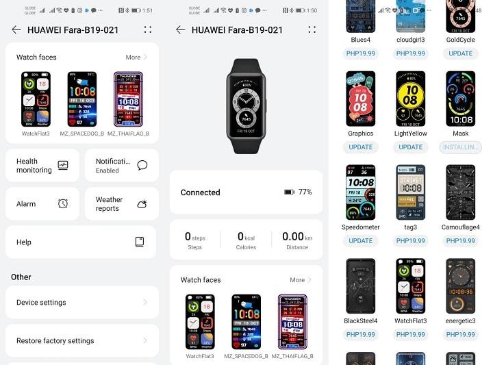Huawei Band 6 Review: Huawei Health