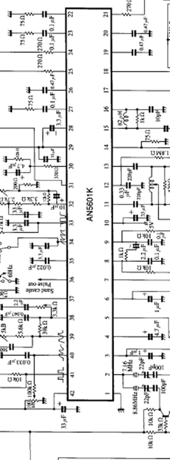 SERVIS TV SALATIGA (lcd/led/tabung): AN 5601K SCEMATIC