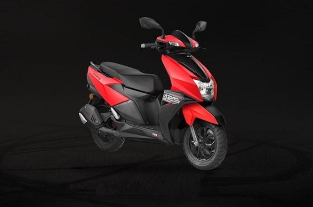 New 2018 TVS Ntorq 125cc premium scooter