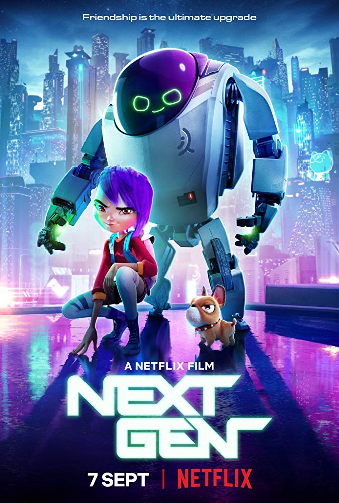 Next Gen 2018 Dual Audio Hindi ORG 720p WEB-DL 1GB ESubs Download