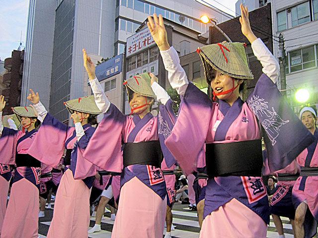 Otsuka Awa Odori (Bon Dance), Otsuka, Toshima, Tokyo