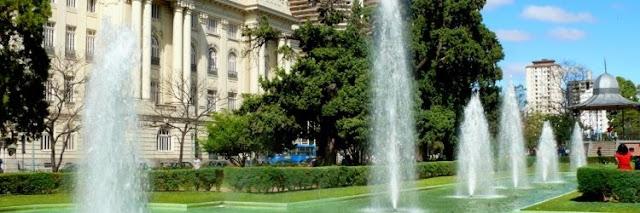 Onde Correr e Caminhar em Belo Horizonte : Praça da Liberdade