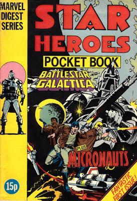 Star Heroes pocket book #1, Battlestar Galactica