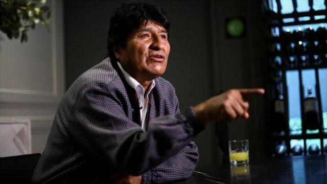 """""""El mundo se dio cuenta de que hubo un golpe de Estado en Bolivia"""""""