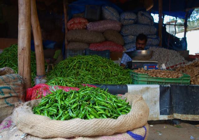 Bangalore market produce