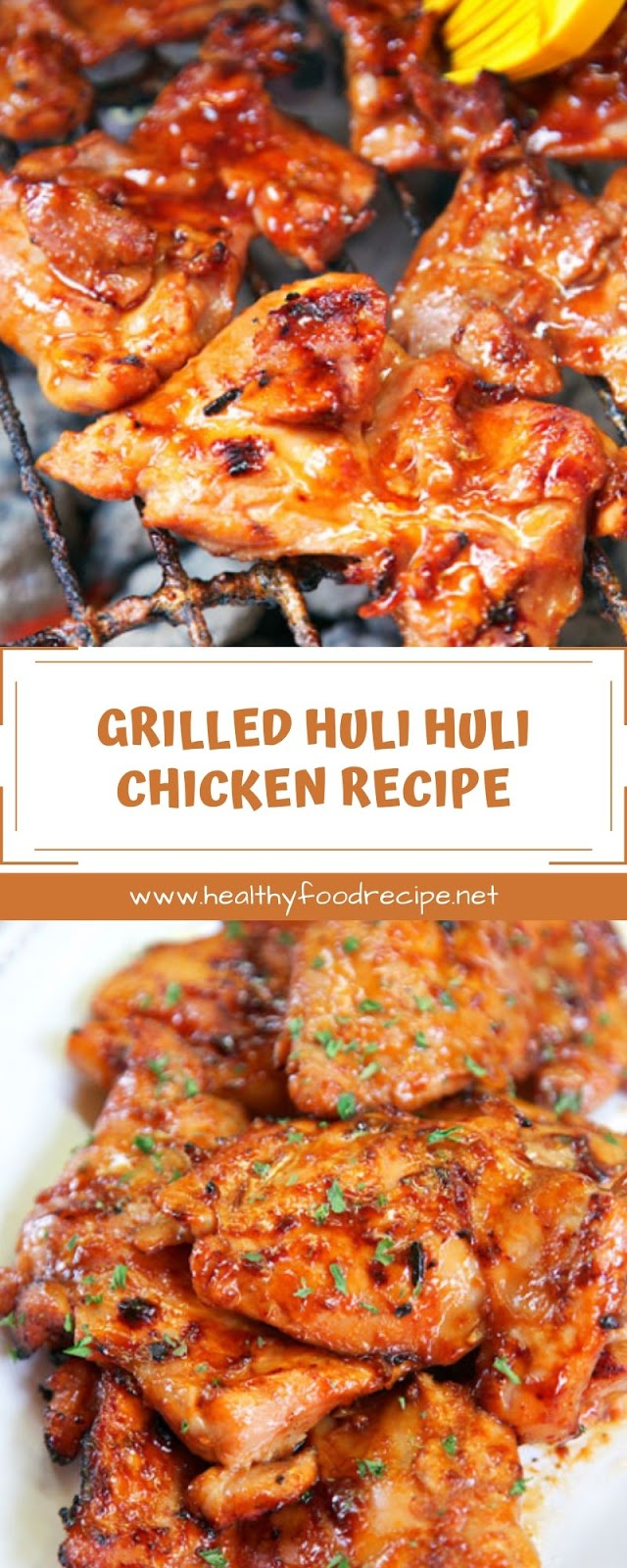GRILLED HULI HULI CHICKEN RECIPE