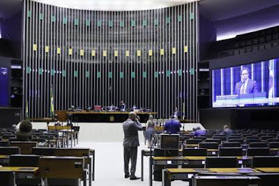 Plenário da Câmara dos Deputados. Café com Jornalista
