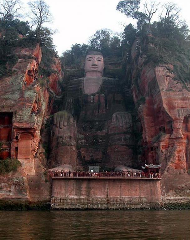 Những bí mật chưa từng kể về pho tượng Phật lớn nhất thế giới có từ 1300 năm trước