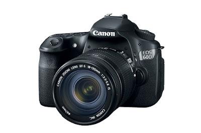 Canon EOS D60 DSLRダウンロードフルドライバー