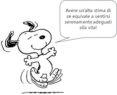 Snoopy felice